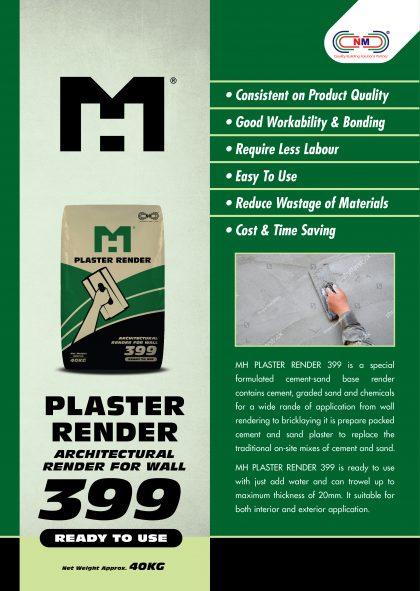 MH PLASTER RENDER 399